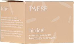 Voňavky, Parfémy, kozmetika Tónovací ryžový púder - Paese Hi Rice Coloured Rice Powder