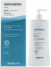 Voňavky, Parfémy, kozmetika Telové mlieko - SesDerma Laboratories Hidraderm Body Milk