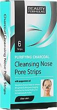 Voňavky, Parfémy, kozmetika Prúžky na hlboké čistenie pokožky nosa - Beauty Formulas Purifying Charcoal Deep Cleansing Nose Pore