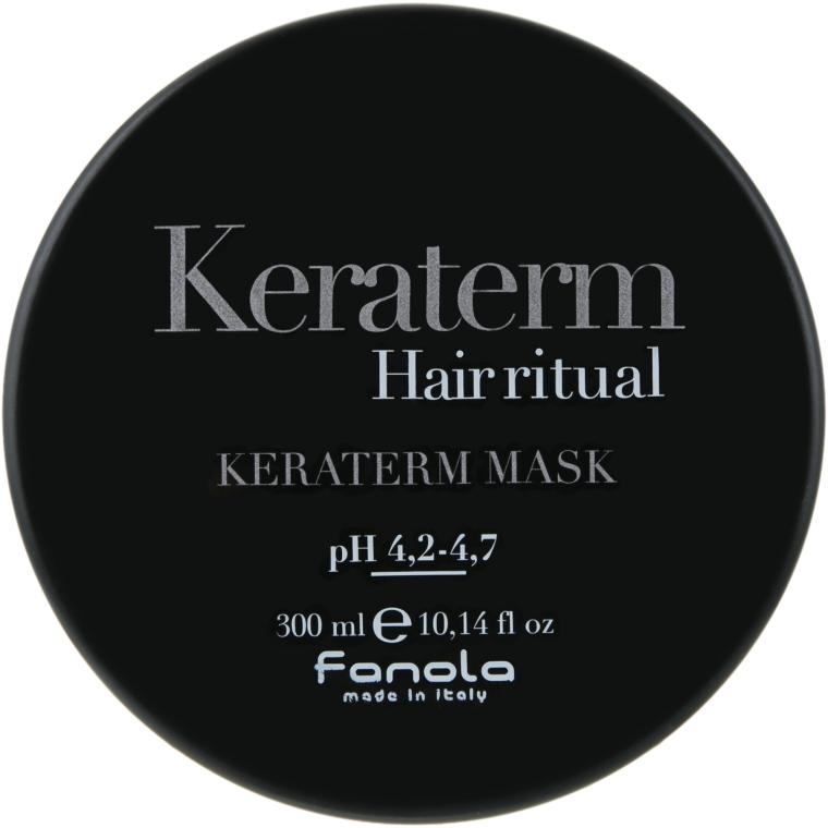 Maska na rekonštrukciu poškodených vlasov - Fanola Keraterm Mask — Obrázky N1