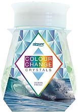 """Voňavky, Parfémy, kozmetika Gélový osviežovač s kryštálmi """"Sviežosť oceánu"""" - Airpure Colour Change Crystals Ocean Fresh"""