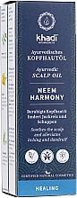 Voňavky, Parfémy, kozmetika Ajurvédsky olej na pokožku hlavy - Khadi Ayurvedic Scalp Oil Neem Harmony