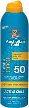 Voňavky, Parfémy, kozmetika Sprej s ochranou proti slnku - Australian Gold Fresh & Cool Continuous Spray Sunscreen Spf50