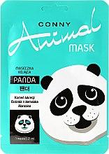 """Voňavky, Parfémy, kozmetika Upokojujúca maska na tvár """"Panda"""" - Conny Animal Mask Panda"""