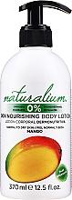 """Voňavky, Parfémy, kozmetika Telový krém výživný """"Mango"""" - Naturalium Body Lotion Mango"""
