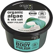 """Voňavky, Parfémy, kozmetika Telový peeling """"Atlantické riasy"""" - Organic Shop Body Scrub Organic Algae & Sea Salt"""