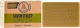 """Voňavky, Parfémy, kozmetika Mydlo Aleppo """"Jazmín"""" - Alepeo Aleppo Soap Jasmine 8%"""