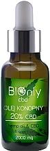 Voňavky, Parfémy, kozmetika Konopný olej CBD 20% - BIOnly