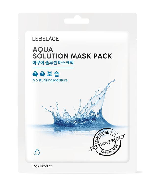 Textilná maska na tvár - Lebelage Aqua Solution Mask