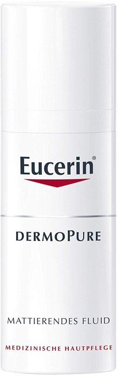 Matovaci flyuid na pokožku so sklonom k akné - Eucerin Dermo Pure Mattierendes Fluid — Obrázky N1