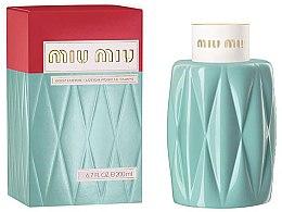 Voňavky, Parfémy, kozmetika Miu Miu Miu Miu - Telové mlieko