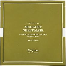 Voňavky, Parfémy, kozmetika Listová maska na tvár s palinou - I'm From Mugwort Sheet Mask