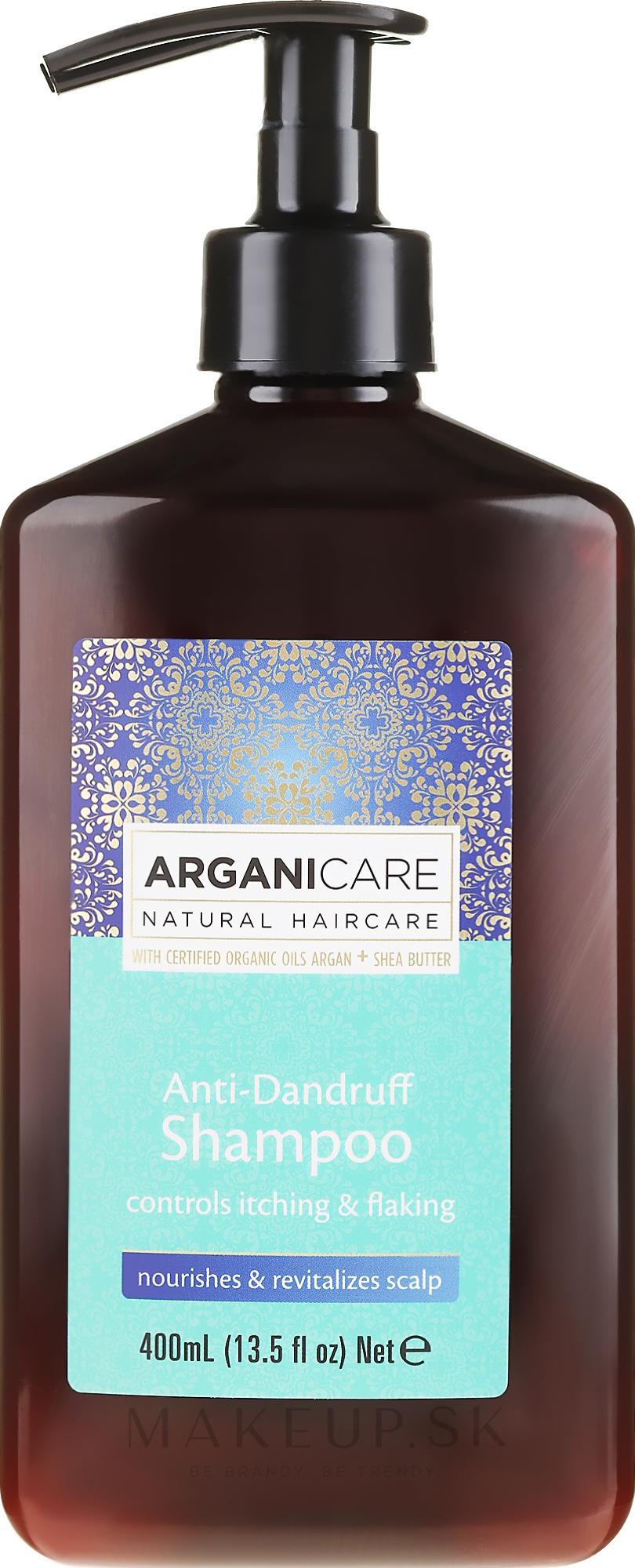 Šampón proti lupinám - Arganicare Shea Butter Anti-Dandruff Shampoo — Obrázky 400 ml