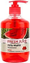 """Voňavky, Parfémy, kozmetika Gél mydlo s glycerínom """"Vodný melón"""" - Fresh Juice Watermelon"""