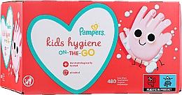 Voňavky, Parfémy, kozmetika Detské vlhčené utierky, 12x40 ks - Pampers Kids On The Go