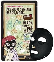Voňavky, Parfémy, kozmetika Liftingová maska na tvár - Dewytree Premium Synake Black Sheet Mask