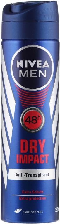 Dezodoračný sprej - Nivea Men Dry Impact Deo Spray
