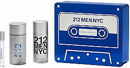 Voňavky, Parfémy, kozmetika Carolina Herrera 212 Men NYC - Sada (edt/100ml + deo/150ml + edt/10ml)