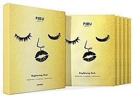 Voňavky, Parfémy, kozmetika Sada - Pibu Beauty Brightening Mask Set (f/mask/5x29ml)