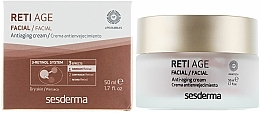 Voňavky, Parfémy, kozmetika Anti-age krém pre suchú pokožku s tromi typmi retinolu - SesDerma Laboratories Reti Age Facial Antiaging Cream 3-Retinol System