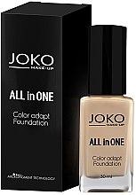 Voňavky, Parfémy, kozmetika Tonálny krém - Joko All In One Foundation