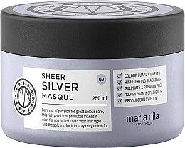 Voňavky, Parfémy, kozmetika Maska proti žltnutiu farbených vlasov - Maria Nila Sheer Silver Masque