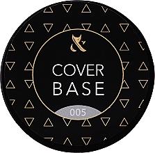 Voňavky, Parfémy, kozmetika Maskovacia báza na nechty (téglik) - F.O.X Cover Base