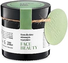 Voňavky, Parfémy, kozmetika Ľahký denný krém pre problémnu pleť - Make Me BIO Beautiful Face