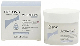Voňavky, Parfémy, kozmetika Nočný pleťový krém - Noreva Aquareva Intensive Moisturizing Night Care