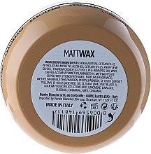 Matujúci vosk na vlasy - Renee Blanche Moine Matt Wax — Obrázky N2