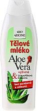Voňavky, Parfémy, kozmetika Hydratačné mlieko pre télo - Bione Cosmetics Aloe Vera Nourishing Body Lotion With Collagen
