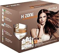 Voňavky, Parfémy, kozmetika Sada na regeneráciu vlasov - H.Zone (shm/500/ml + lot/500/ml + spray/250/ml + serum/150/ml + towel)