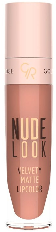 Matný rúž na pery - Golden Rose Nude Look Velvety Matte Lipcolor
