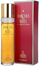 Voňavky, Parfémy, kozmetika Elizabeth Taylor Diamonds&Rubies - Toaletná voda