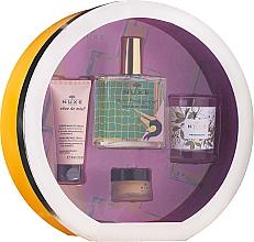 Voňavky, Parfémy, kozmetika Sada - Nuxe Culte Prodigieux Box (oil/100ml + h/cr/30ml + lip/balm/15ml + candle)