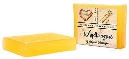 """Voňavky, Parfémy, kozmetika Glycerínové mydlo na telo """"Šedé s ľanovým olejom"""" - The Secret Soap Store"""