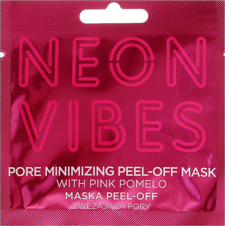 Maska na tvár - Marion Neon Vibes Pore Minimizing Peel-off Mask