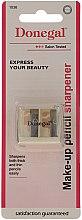 Voňavky, Parfémy, kozmetika Dvojité strúhadlo na ceruzky, 1036, biele - Donegal