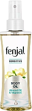 """Voňavky, Parfémy, kozmetika Olej na telo """"Mandle a vitamín E"""" - Fenjal Sensitive Body Oil"""