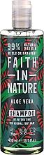 """Voňavky, Parfémy, kozmetika Šampón pre normálne a suché vlasy """"Aloe Vera"""" - Faith In Nature Aloe Vera Shampoo"""