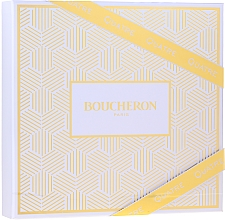 Voňavky, Parfémy, kozmetika Boucheron Quatre Boucheron Pour Femme - Sada (edp/50ml + b/lot/50ml+ sh/gel/50ml)