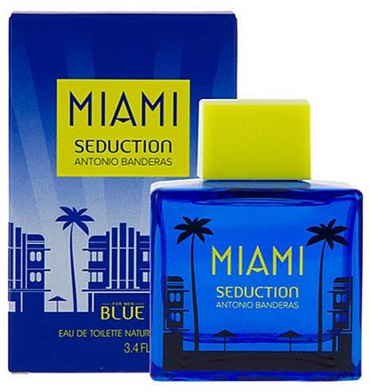Antonio Banderas Blue Seduction Miami - Toaletná voda