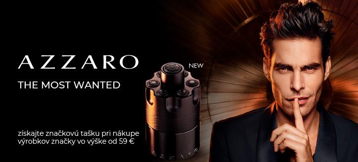 Získajte značkovú tašku ako darček pri nákupe výrobkov Azzaro vo výške od 59 €