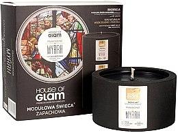 Voňavky, Parfémy, kozmetika Vonná sviečka - House of Glam Frankincense Myrrh Candle
