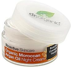 """Voňavky, Parfémy, kozmetika Nočný krém na telo """"Marocký arganový olej"""" - Dr. Organic Bioactive Skincare Organic Moroccan Argan Oil Night Cream"""
