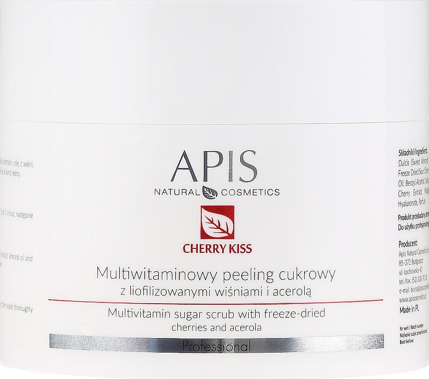 Multivitamínový cukrový peeling - APIS Professional Cheery Kiss