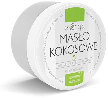 Organický kokosový olej, nerafinovaný - Esent