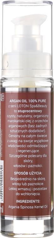Arganový oléj - Loton Argan Oil 100% — Obrázky N2