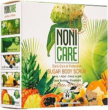 Voňavky, Parfémy, kozmetika Cukrový scrub na telo s AHA kyselinami - Nonicare Garden Of Eden Sugar Body Scrub