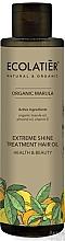 """Voňavky, Parfémy, kozmetika Olej pre lesk vlasov """"Zdravie a krása"""" - Ecolatier Organic Marula Extreme Shine Treatment Hair Oil"""